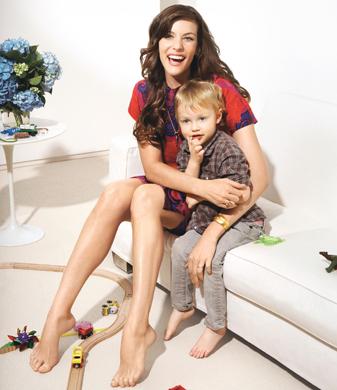 Liv Tyler e Milo (5 anos)
