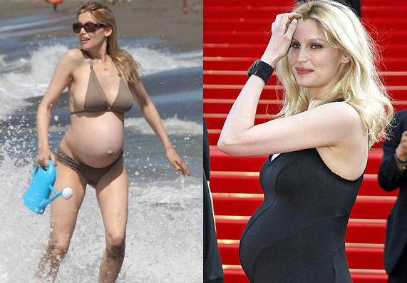 laetitia-casta-pregnant