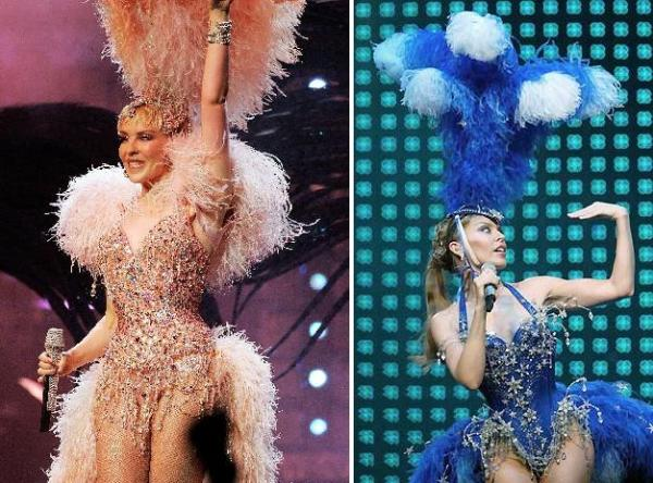 Kylie Minogue na turnê de Showgirl